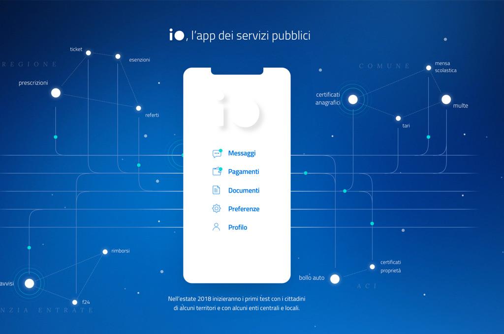Arriva 'Io' app per tutti i servizi della Pubblica Amministrazione